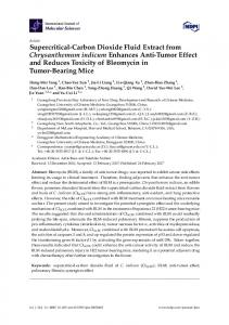 Supercritical-Carbon Dioxide Fluid Extract from ... - MDPI
