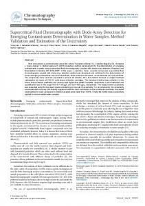Supercritical-Fluid Chromatography with Diode ... - OMICS International