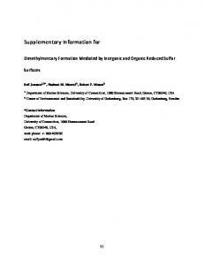 Supplementary Information for - Nature