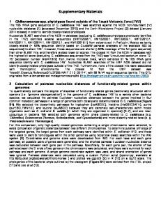 Supplementary Materials - Applied and Environmental Microbiology