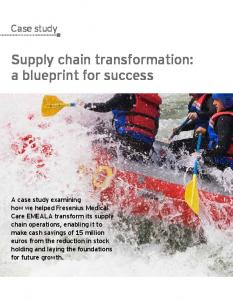 Supply chain transformation: a blueprint for success - EY ...