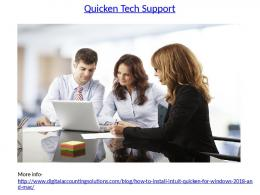 Support For Quicken Customer Service Number 1-8447884223