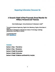 Supporting Information Document for