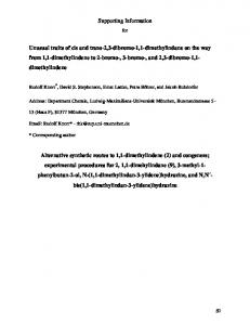 Supporting Information for - Beilstein Journal