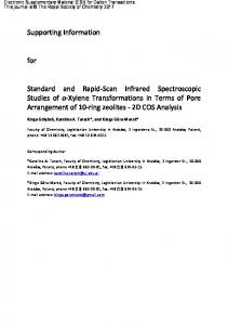 Supporting Information for Standard and Rapid-Scan ...