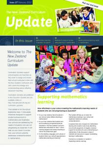 Supporting mathematics learning - New Zealand Curriculum Online