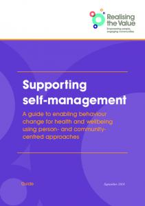 Supporting self-management - The Health Foundation