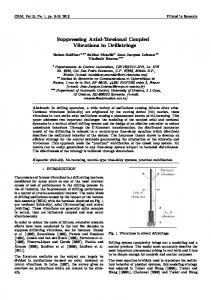 Suppressing Axial-Torsional Coupled Vibrations in ...
