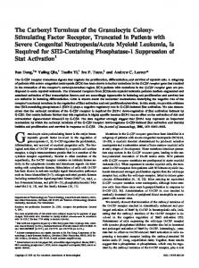 Suppression of Stat Activation Required for SH2-Containing ...