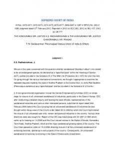 SUPREME COURT OF INDIA - elaw.in