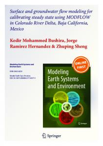 Surface and groundwater flow modeling for ...