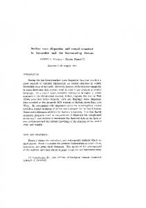 Surface wave dispersion and crustal structure in Antarctica and the ...