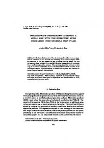 Surface-wave propagation through a metal gap with ... - Springer Link