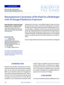 surgery of the hand - KoreaMed Synapse