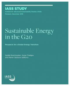 Sustainable Energy in the G20 - IASS Potsdam
