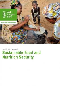 Sustainable Food and Nutrition Security - Welthungerhilfe