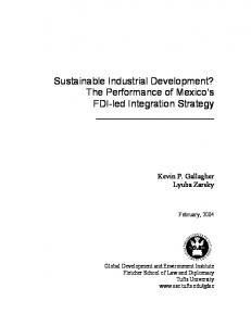 Sustainable Industrial Development? The ... - Semantic Scholar