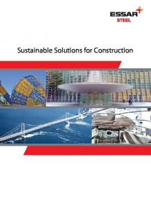 Sustainable solutions for construction - Essar
