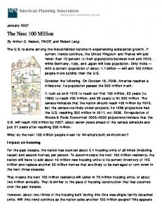 Sustaining the Next 100 Million – Arthur C.