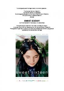 sweet sixteen - WordPress.com