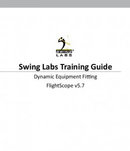 Swing Labs Training Guide