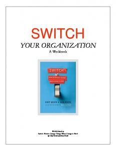 Switch for Organizations - FACEResources.org
