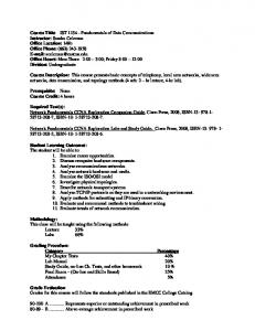 Syllabus - Fall 2012 (.pdf) - East Mississippi Community College
