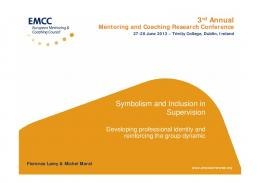 Symbolism and Inclusion in Supervision