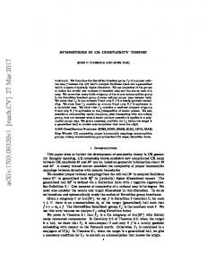 Symmetries in CR complexity theory