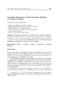 Synergetic Mechanisms of Chiral Symmetry ... - Semantic Scholar