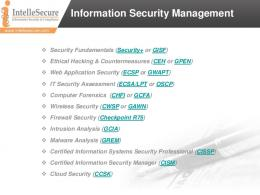 Synopsis - IntelleSecure
