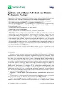 Synthesis and Antitumor Activity of New Thiazole ... - Semantic Scholar