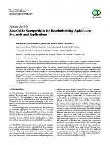 Synthesis and Applications