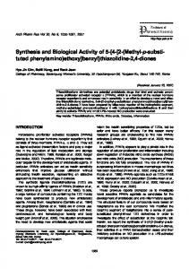 Synthesis and Biological Activity of 5