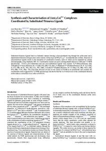 Synthesis and Characterisation of [(en)2Co]3+ ... - CSIRO Publishing