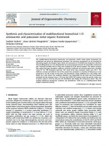 Synthesis and characterization of multifunctional