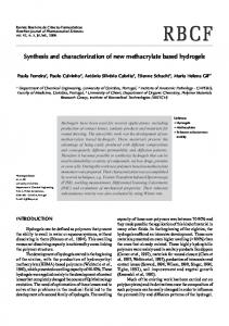 Synthesis and characterization of new