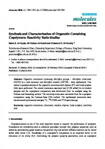 Synthesis and Characterization of Organotin
