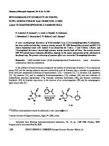synthesis and cytotoxicity of phenyl - Springer Link