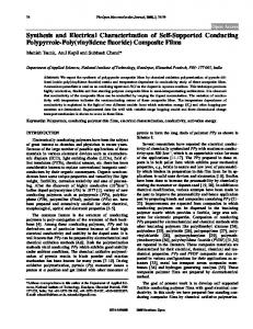 Synthesis and Electrical Characterization of Self ... - Bentham Open