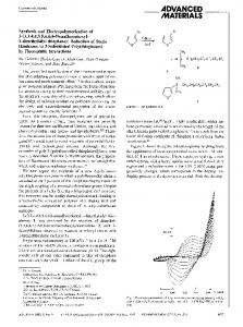 Synthesis and electropolymerization of 3