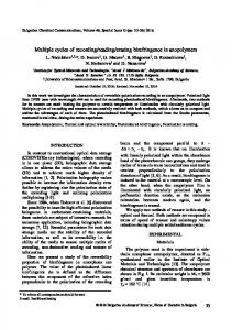 Synthesis and evaluation of some substituted pyrazole derivatives of ...