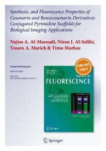Synthesis, and Fluorescence Properties of Coumarin ...
