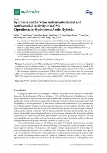Synthesis and In Vitro Antimycobacterial and ... - Semantic Scholar