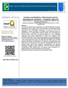 Synthesis and Inhibition of Microbial Growth by ... - Allied Academies