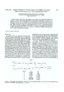 Synthesis and properties of 1-aryl-2-alkyl-1,4,5 ... - Wiley Online Library
