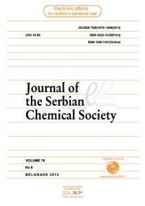 synthesis and spectral and structural characterization