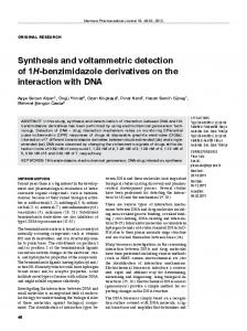 Synthesis and voltammetric detection of 1H-benzimidazole derivatives