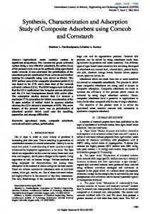 Synthesis, Characterization and Adsorption Study of Composite