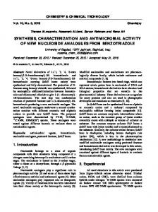 synthesis, characterization and antimicrobial activity ...